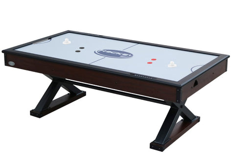 "Berner Billiards ""The X-Treme"" 7 foot Air Hockey in Walnut"