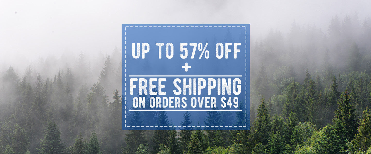 free shipping on camping supplies