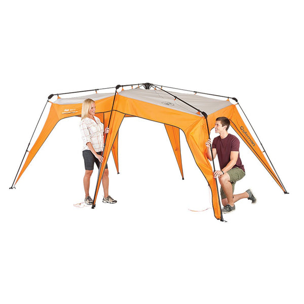 ... Coleman Signature Instant 2-for-1 Tent and Shelter 4 Person ...  sc 1 st  TentsEtc.com : coleman signature tent - memphite.com