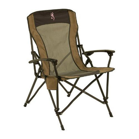 Browning Camping Fireside Chair - Pink Buckmark