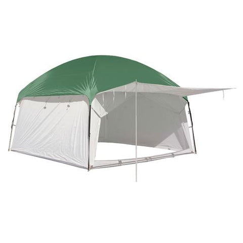 PahaQue 10x10 Screen Room Rainfly, Green
