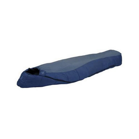 Blue Springs Sleeping Bag +35, Blue/Navy, Regular - TentsEtc.com