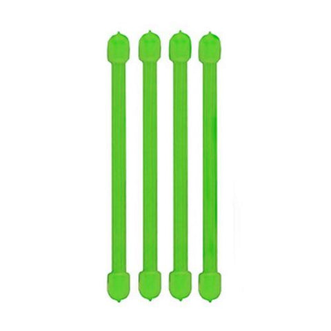 Nite Ize 3in Gear Ties, Lime (Pack of 4)