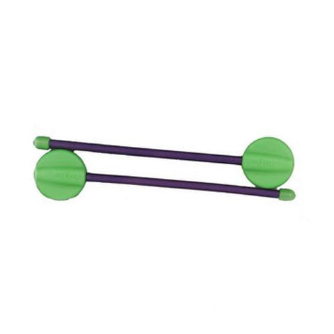 Nite Ize 4in Gear Tie Hanging Twist Tie, Lime/Purple