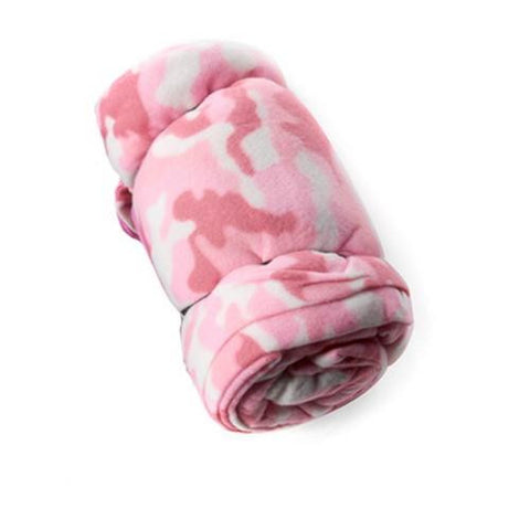 Tex Sport Fleece Sleeping Bag, Pink
