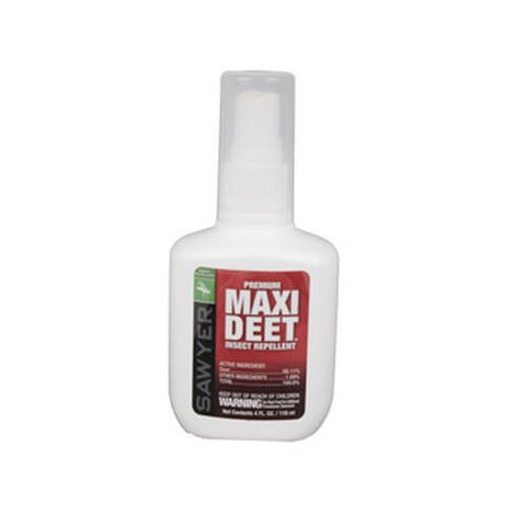 Maxi 100% Deet Pump Spray, 4oz - TentsEtc.com