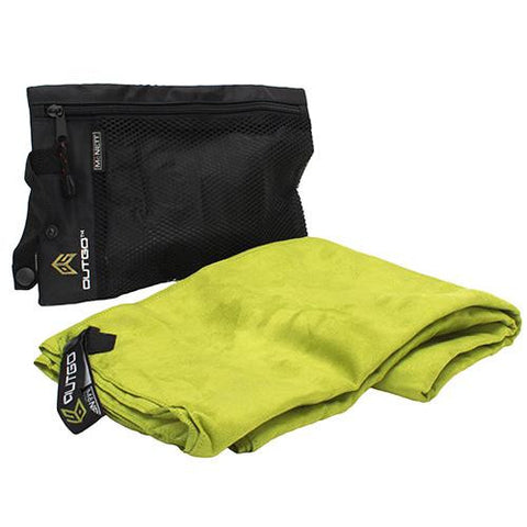 McNett Large OutGo Microfiber Towel - Olive Drab Green