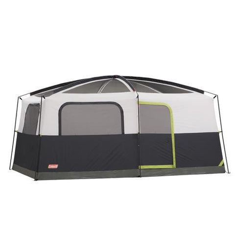 14ft x 10ft Prairie Breeze 9 Person Tent with Fan & LED Light - TentsEtc.com