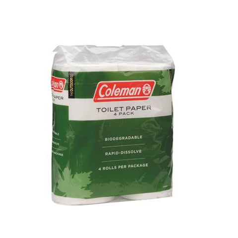 Coleman Toilet Paper 4 Pack