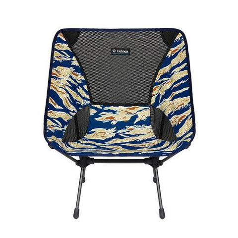 Chair One Camp Chair - Blue Tiger Camo - TentsEtc.com