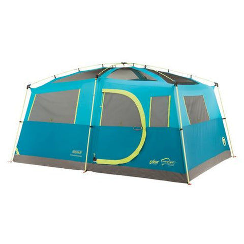Coleman Tenaya Fast Pitch 8 Person Cabin Tent with Closet