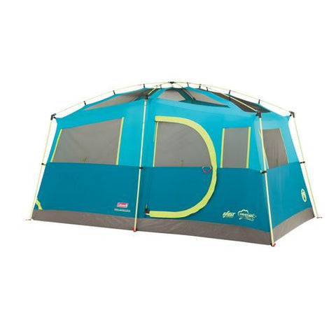 Coleman Tenaya Fast Pitch 6 Person Cabin Tent with Cabinet