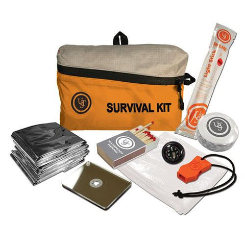 Ultimate Survival Technologies FeatherLite Survival Kit 1.0, Orange