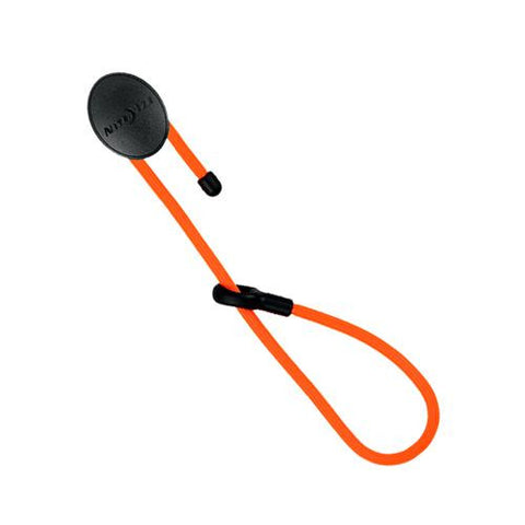 12in Dockable Twist Gear Tie, Bright Orange - TentsEtc.com