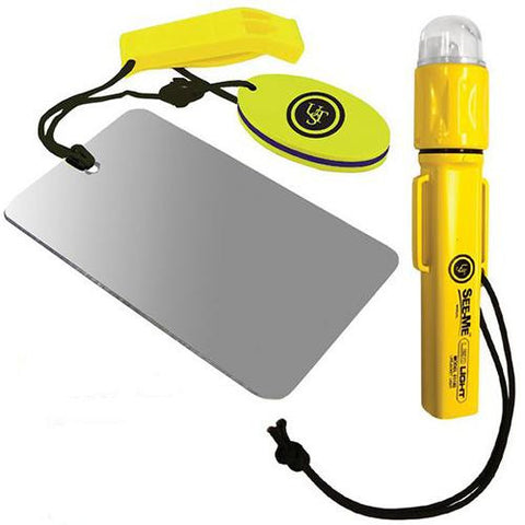 Ultimate Survival Technologies PFD Signal Kit - 1.0, Yellow