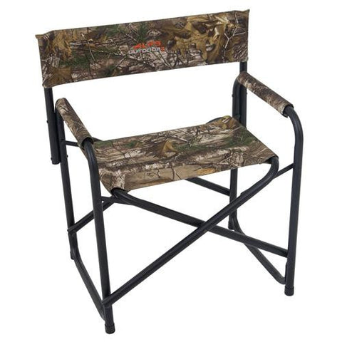 Alps Mountaineering Outdoor Z Chair - Directors Chair, Realtree Xtra
