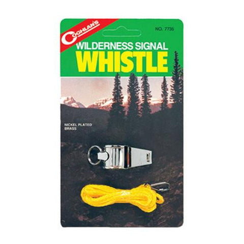 Coghlans Camping & Wilderness Signal Whistle