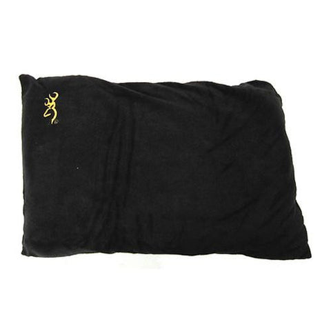 Browning Camping Fleece Pillow - Black