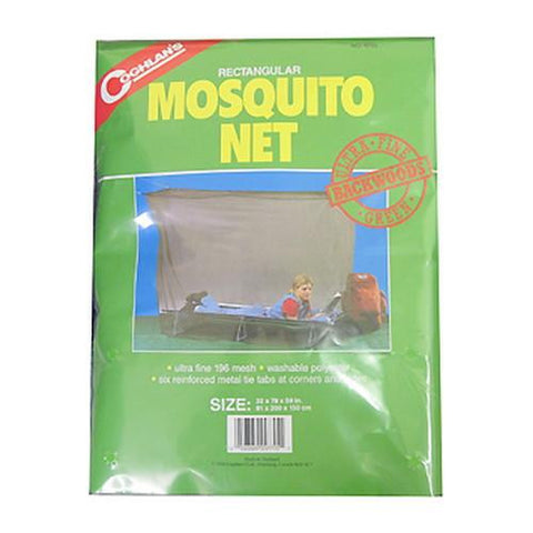 Coghlans Single Backwoods Mosquito Net, Green