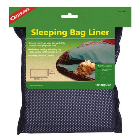 Sleeping Bag Liner - Rectangular - TentsEtc.com