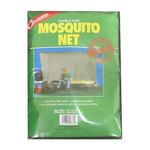Double Backwoods Mosquito Net, Green - TentsEtc.com