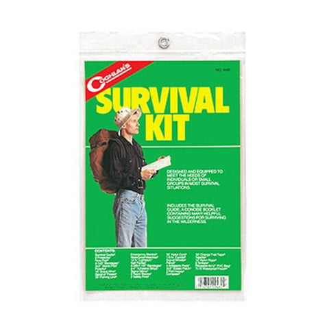 Coghlans Survival Kit with Guide