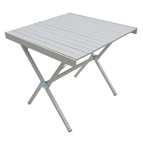 Alps Mountaineering Square Dining Table, Silver