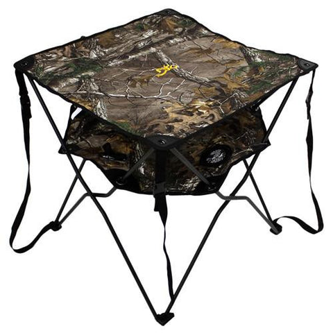 Double Barrel Table, AP Camo - TentsEtc.com