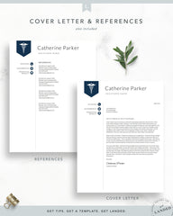 Medical Resume Template | The Catherine