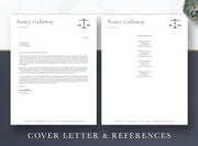 Attorney & Lawyer resume cover letter