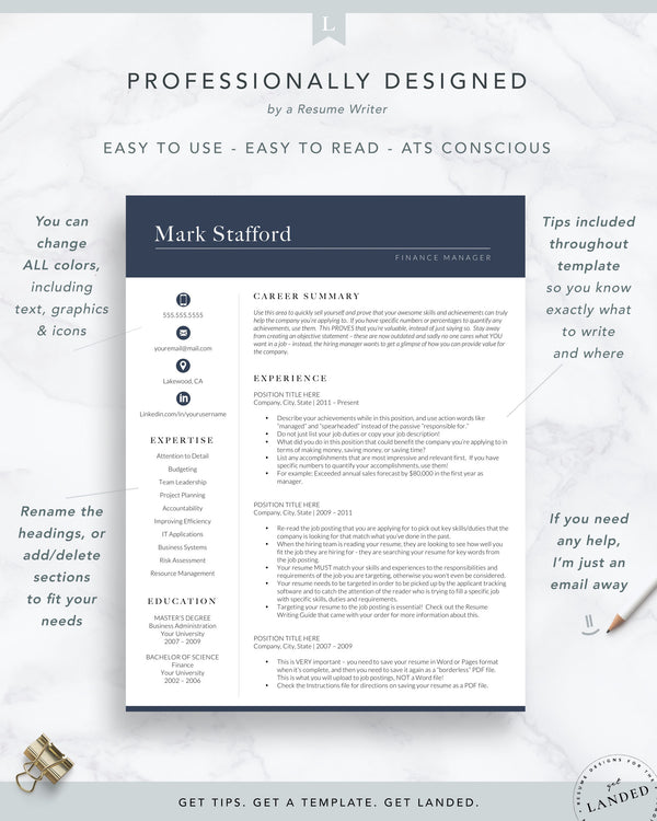 corporate resume format, finance resume