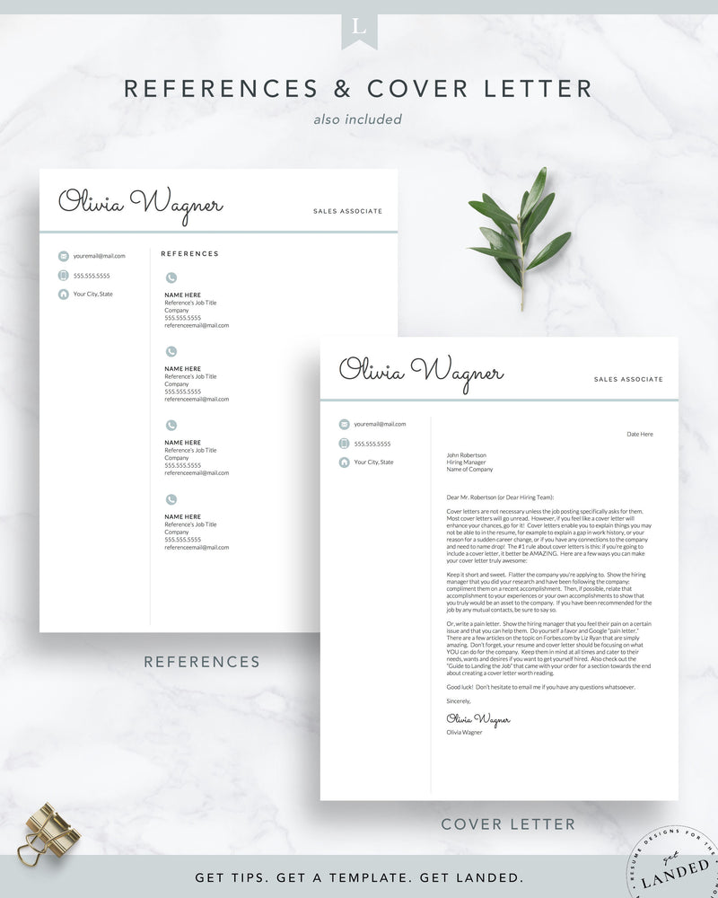 Retail Sales Resume Template, Customer Service Resume, Hospitality Resume, Student Resume Template, New Graduate Resume, Job Application