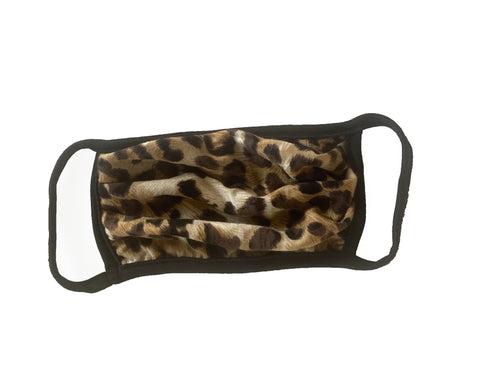 Animal Print Comfortable Double Layer Face Mask (5)