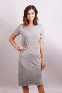 Extended hooded dress