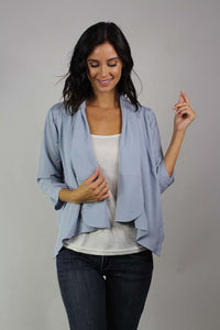 3/4 sleeve light weight blazer