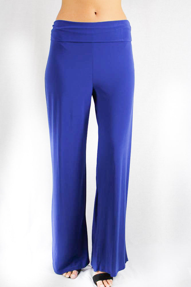 Women's High Waist Relaxed Fit Wide Leg Pant