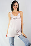 honeymoonin' crisscross tank