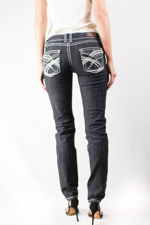 charcoal washed denim