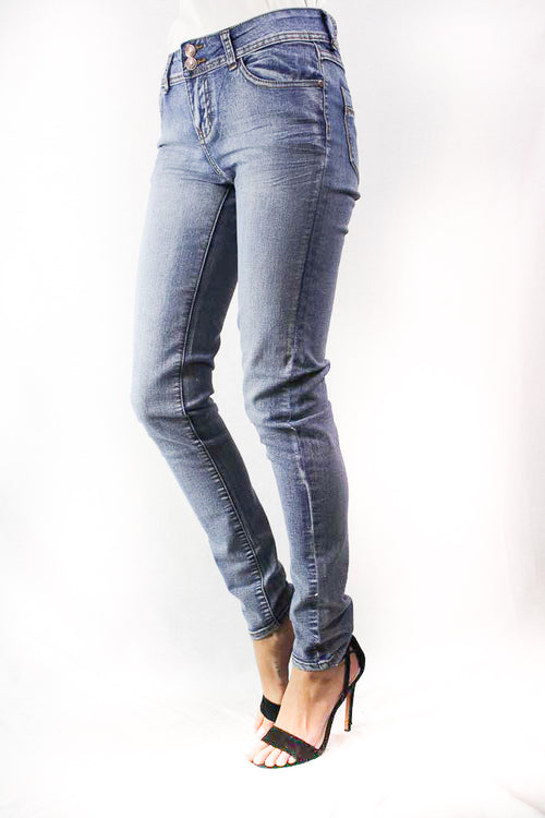 light blue washed denim