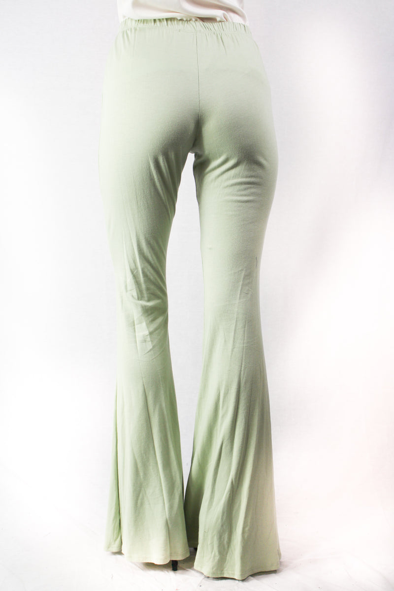 Women's High Waist Flare Bottoms