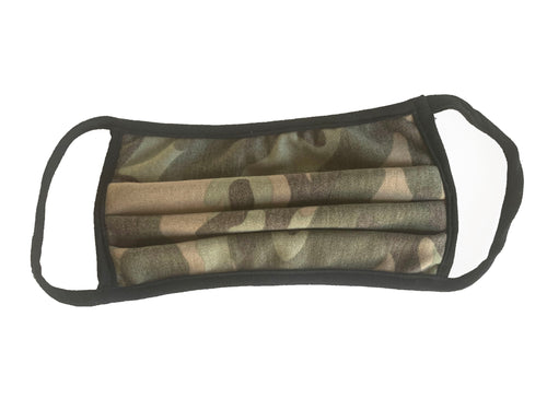 Camouflage Print Comfortable Double Layer Face Mask (5)