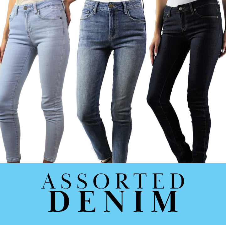 Women's Assorted Jeans 10/pack