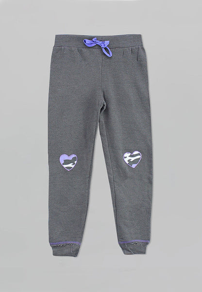 Gray Jogger Pants - Girls