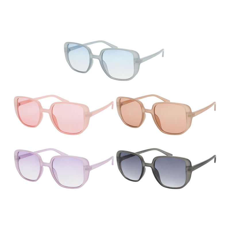 Large Square Trendy Sunglasses