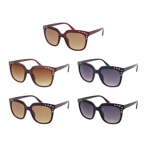 Square Shape Sunglasses with Details