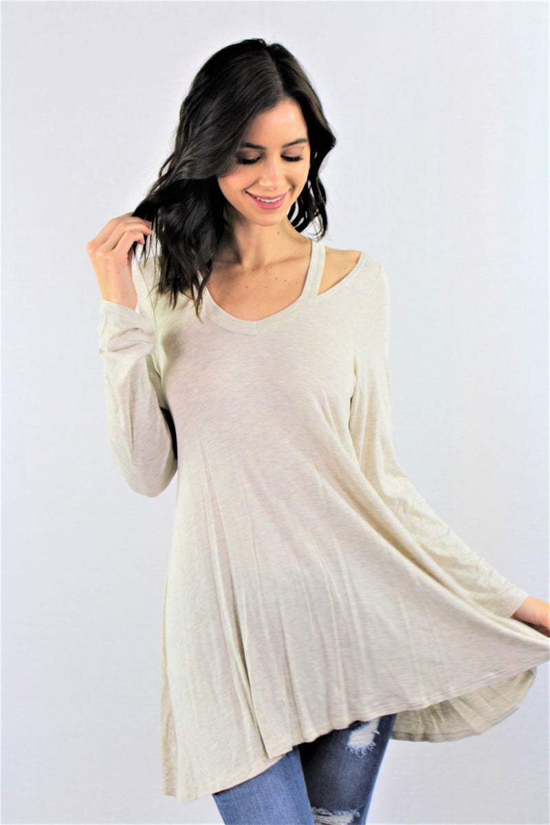 Women's Long Sleeve Tunic