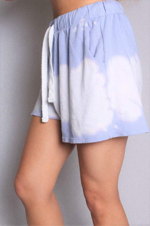Women's Tie Dye Shorts with Front Pockets