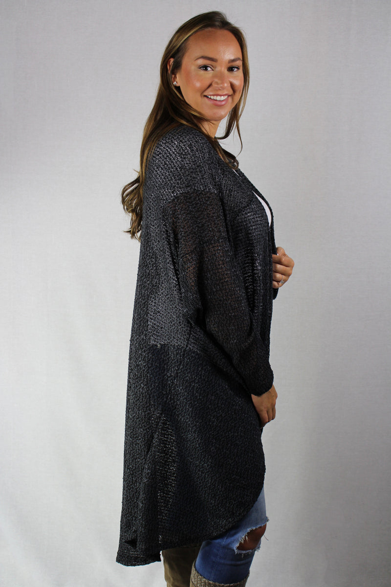 long open front cardigan (NU)