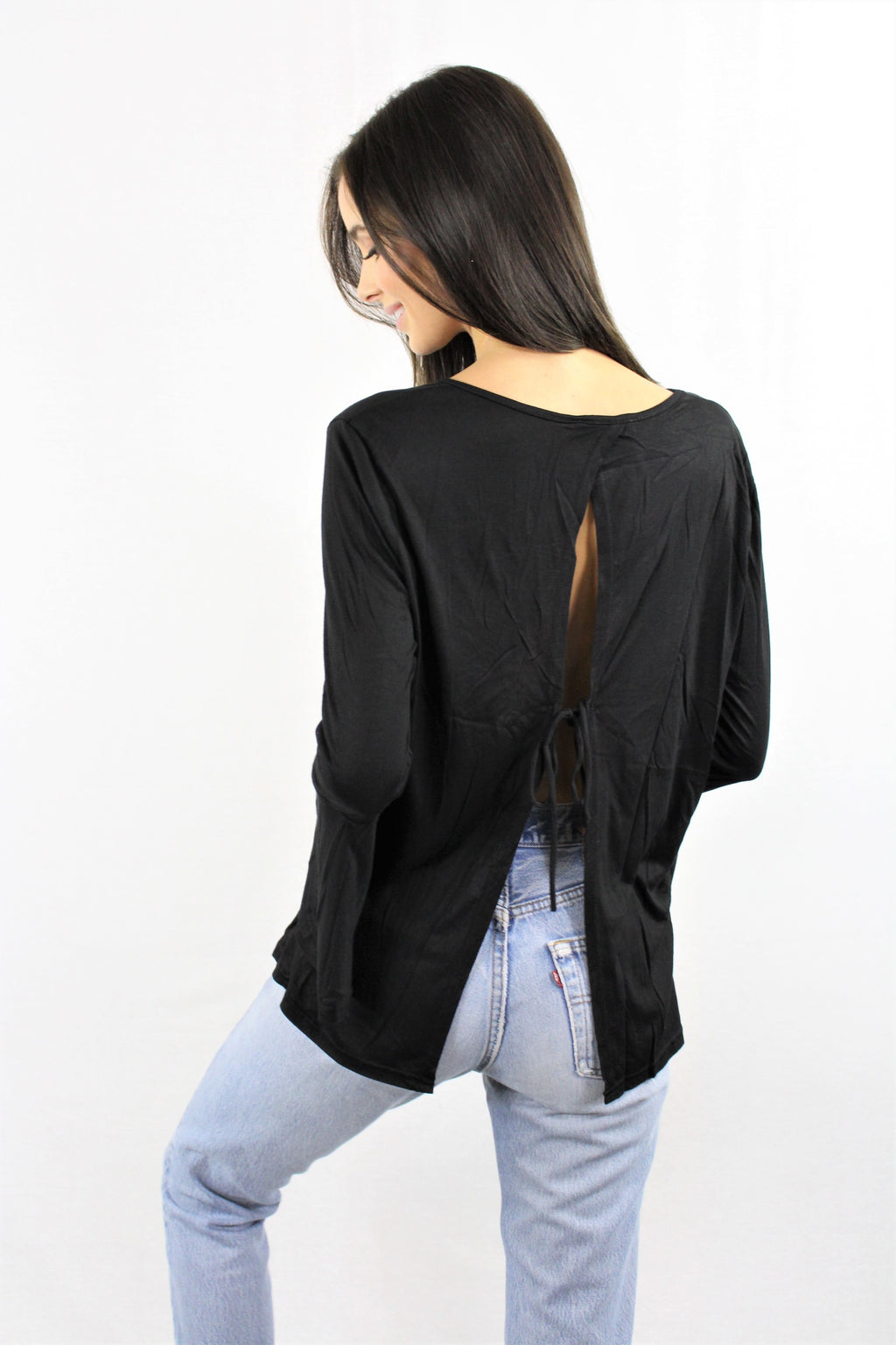 Loose Top Open Back