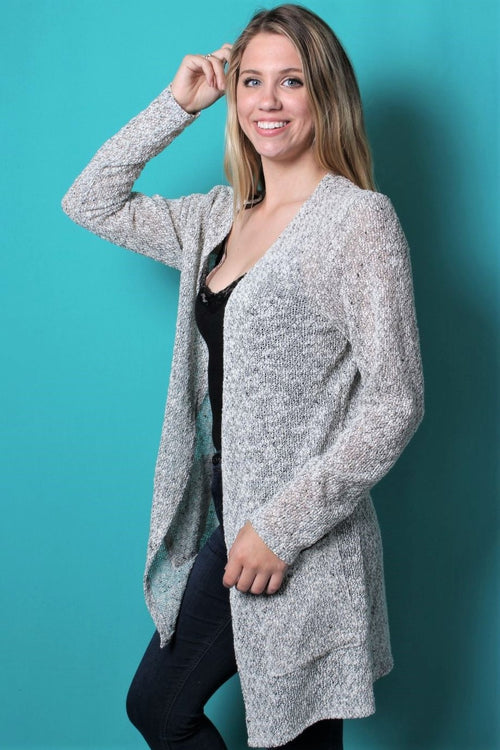 Women's Knit Cardigan With Pockets